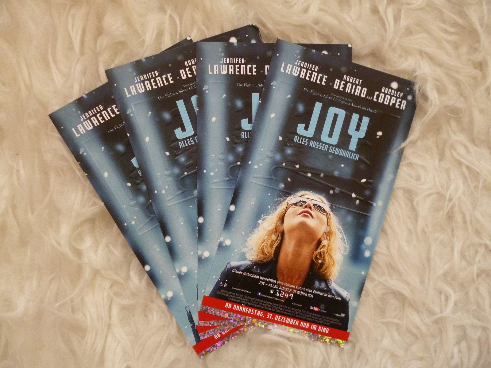 Erinnerung: 'Joy' Gewinnspiel