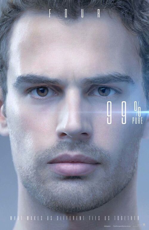 Theo James als Four - Quelle: http://weheartit.com/entry/224140725