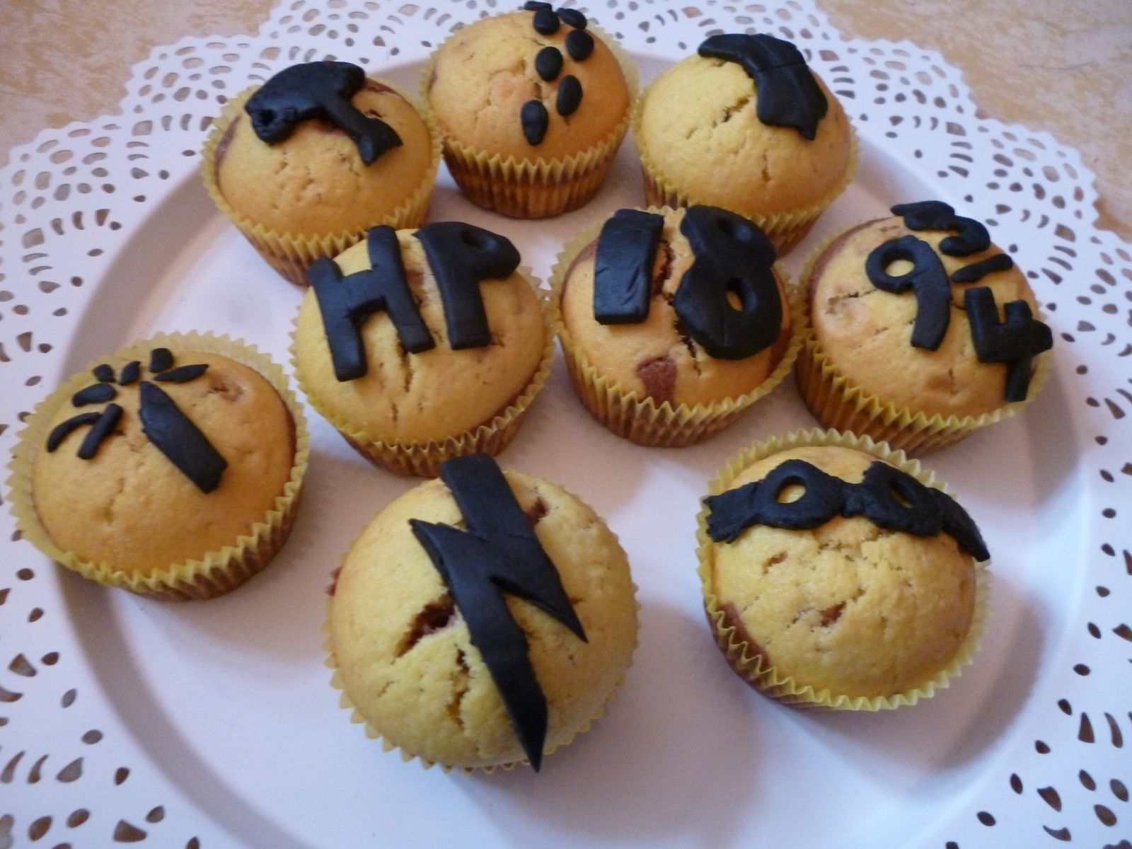 Harry Potter inspirierte Muffins!