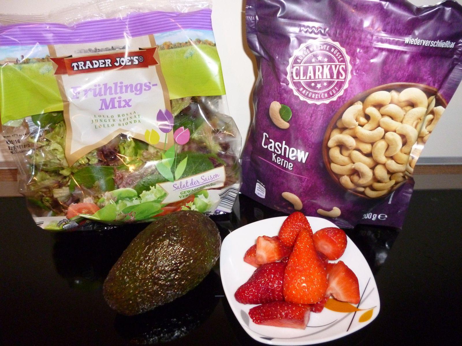 Rezept: Fruchtiger Salat für den Frühling