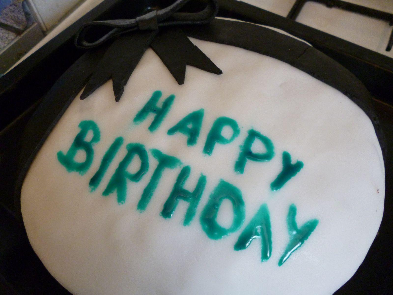 Regenbogen-Geburtstags-Kuchen