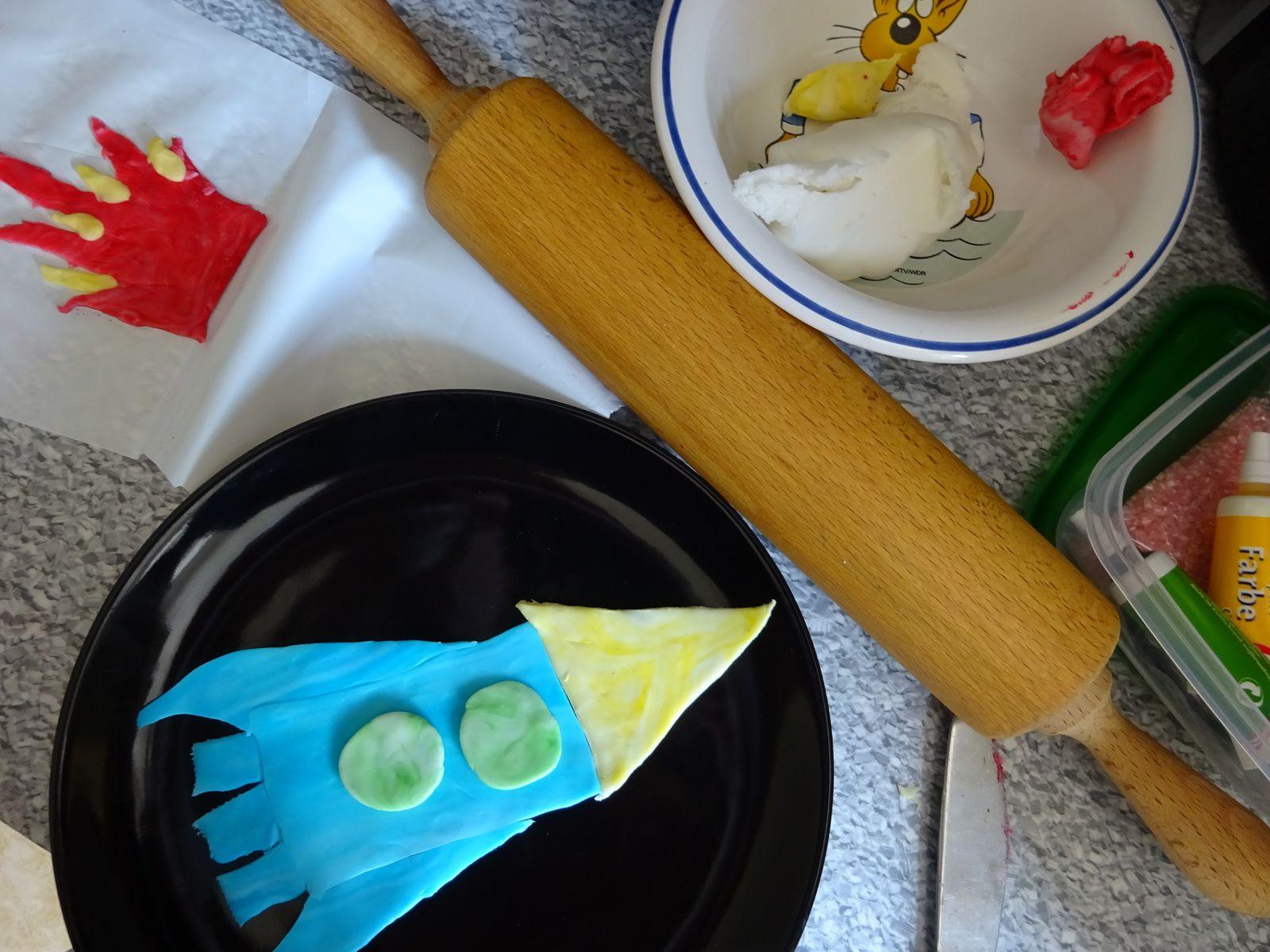 Inspiration: Raketen-Geburtstags-Kuchen