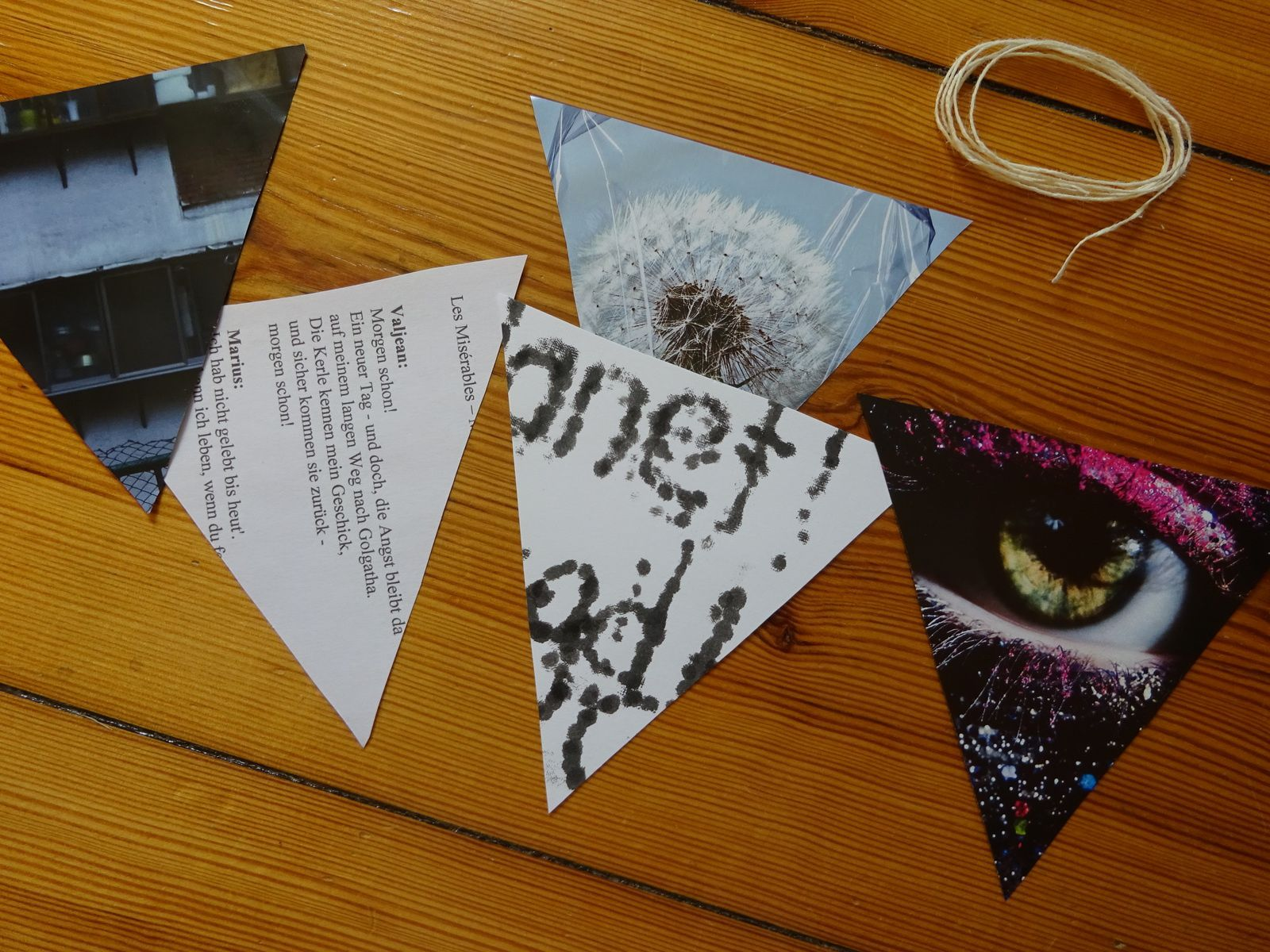 Bücherregal dekorieren + DIY Wimpelkette  thepenelopes  ~ Bücherregal Diy