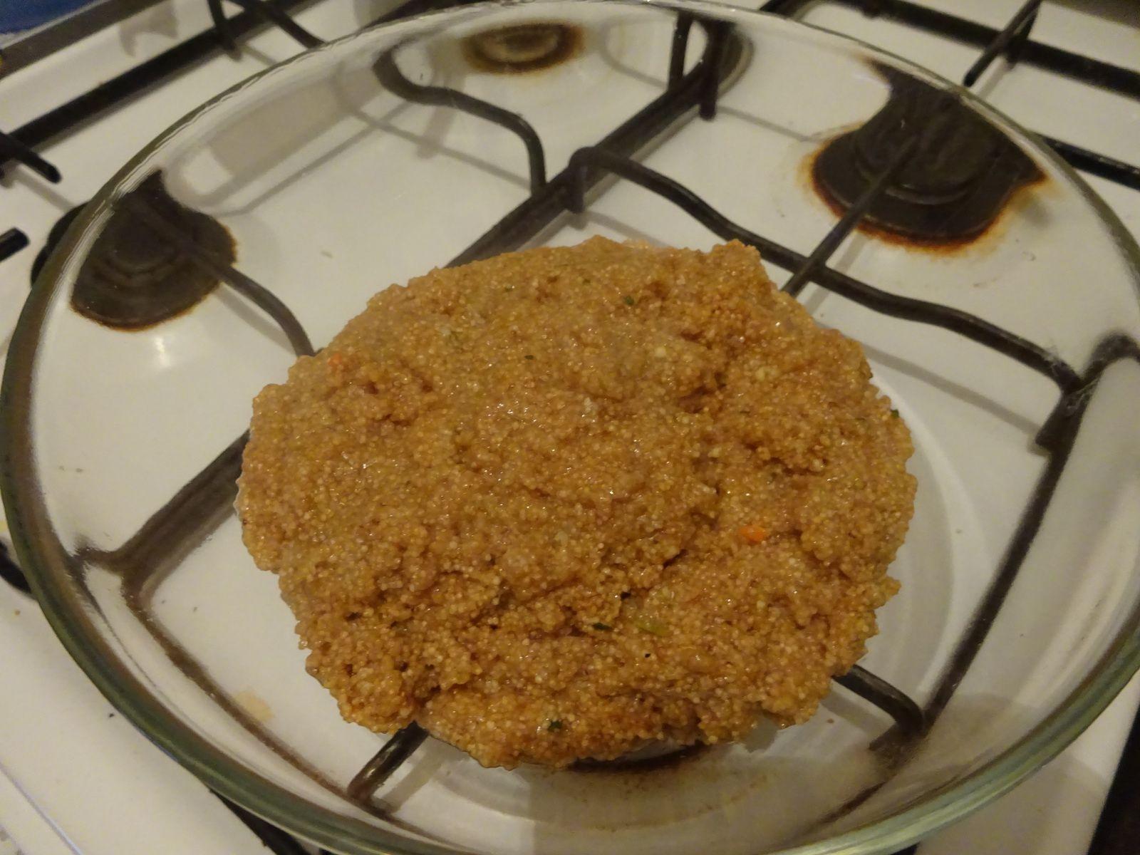 Rezept: vegetarische Amaranth Käse Frikadellen