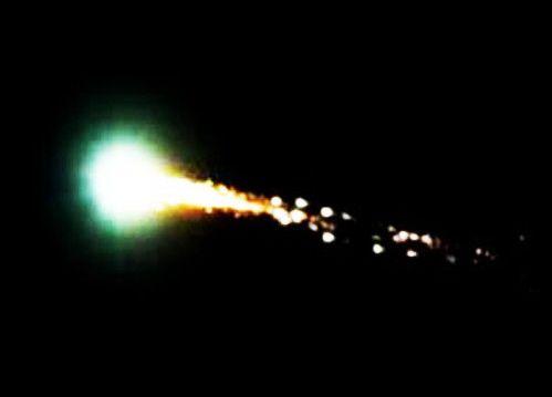 Un météore illumine le ciel de la Californie