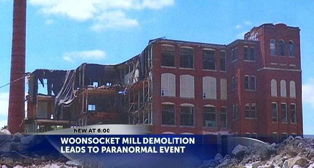 La démolition d'un bâtiment à Woonsocket conduit à des phénomènes paranormaux