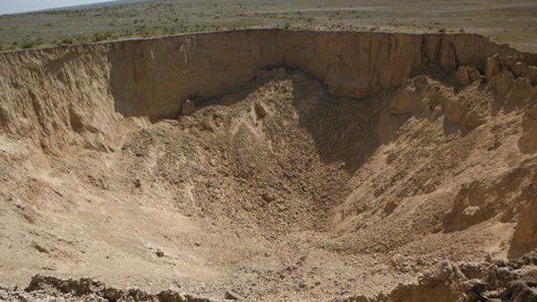 Un trou énorme est apparu du jour au lendemain dans le Kensas