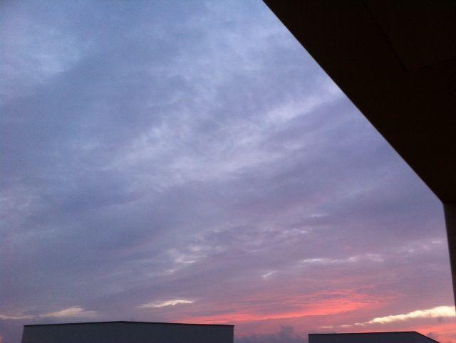 Mon ciel il y a une heure