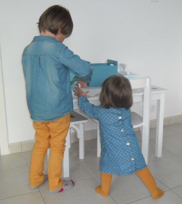 La photo : mes deux loustics il y a quelques mois déjà...