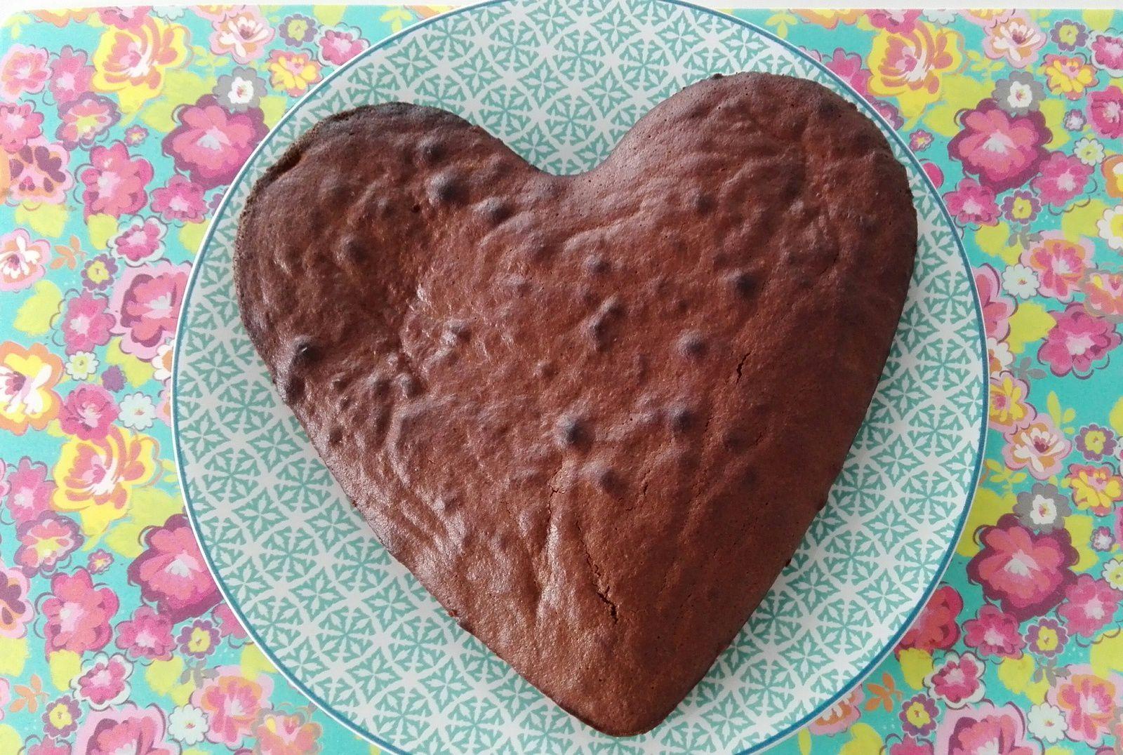 Un bon gâteau au chocolat à la demande de Loulou