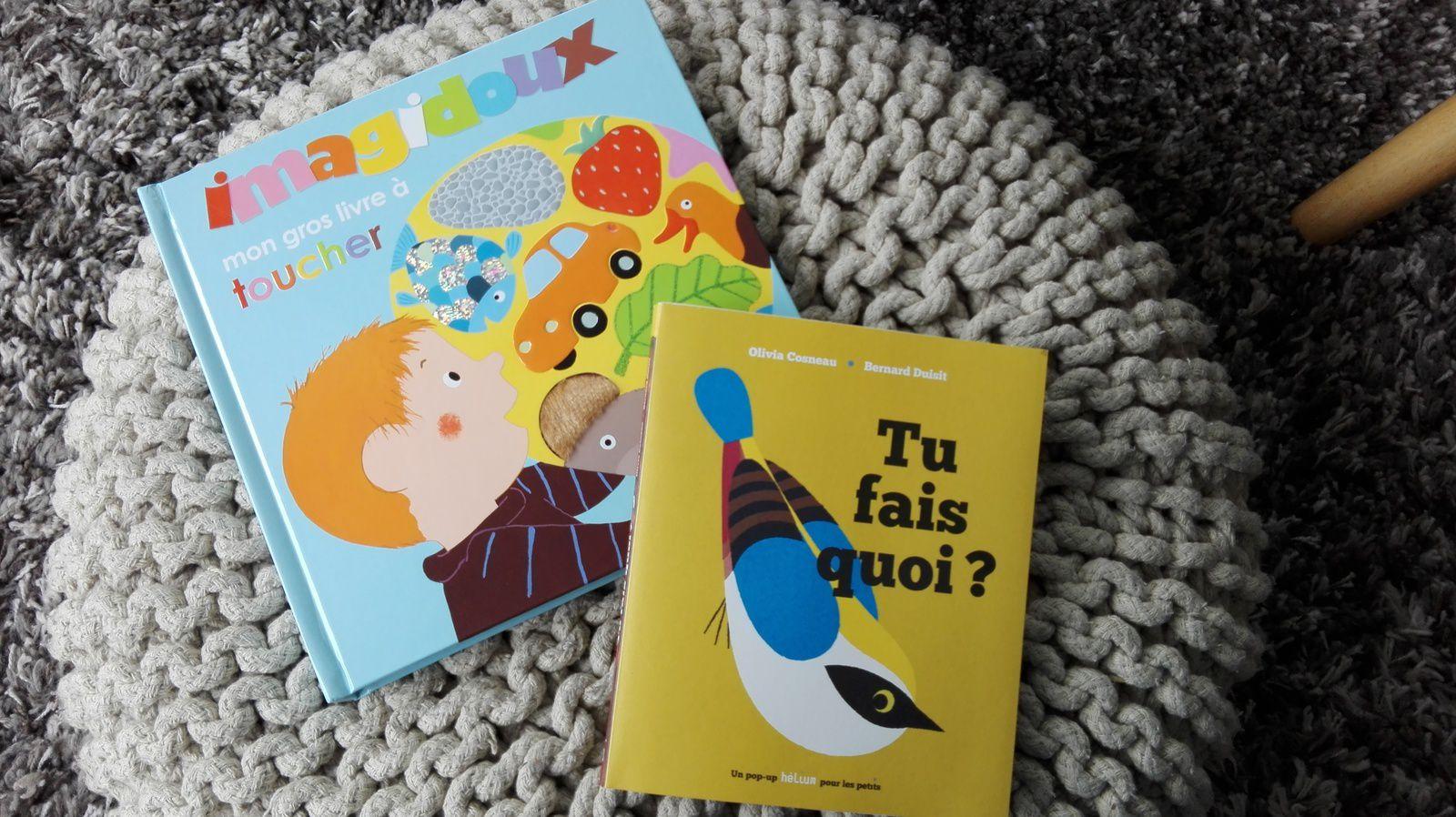 Les lectures des enfants en Avril...