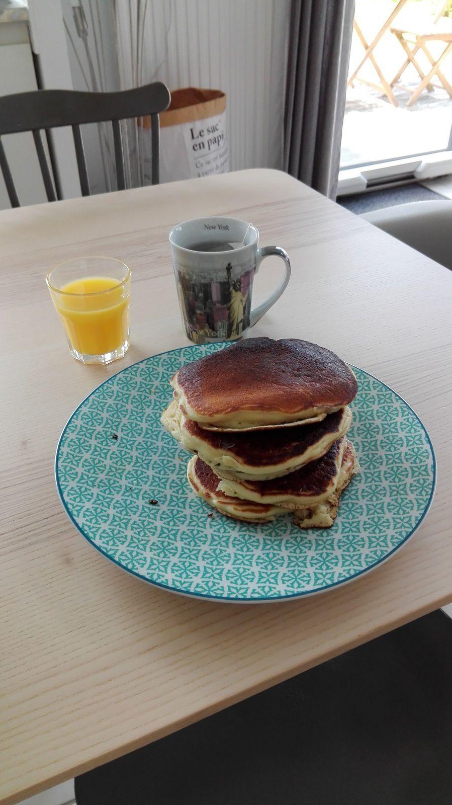 Le petit déjeuner du dimanche matin