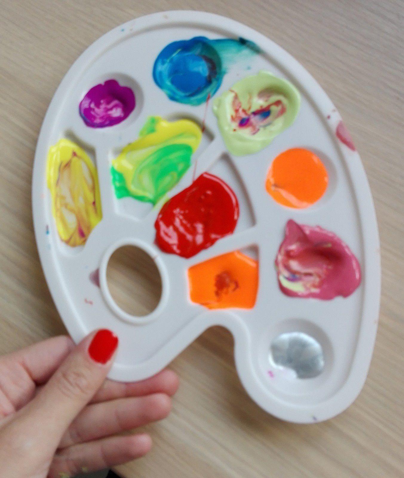 Activités peinture avec les enfants