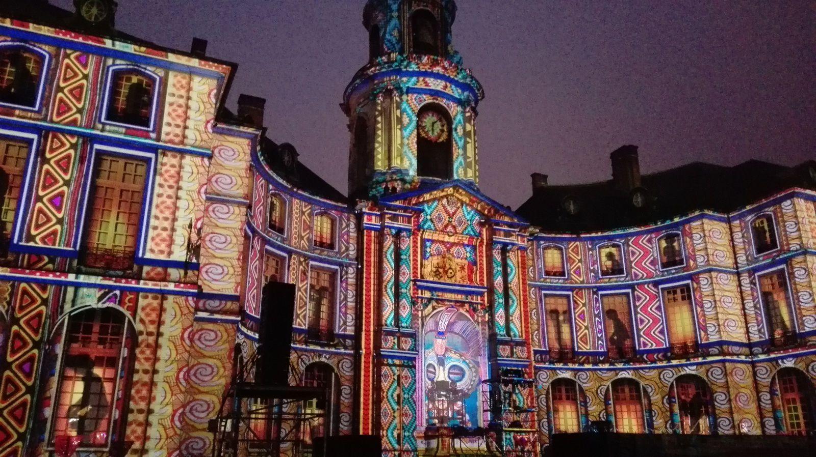 Spectacle de lumières dans notre ville