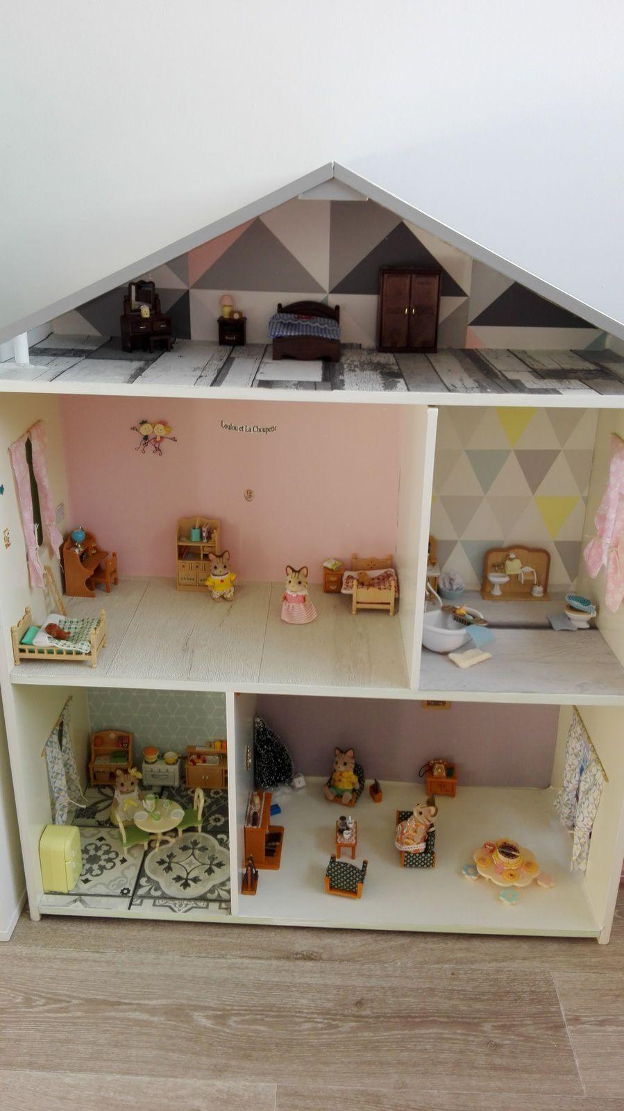 La maison de poupée de La Choupette...