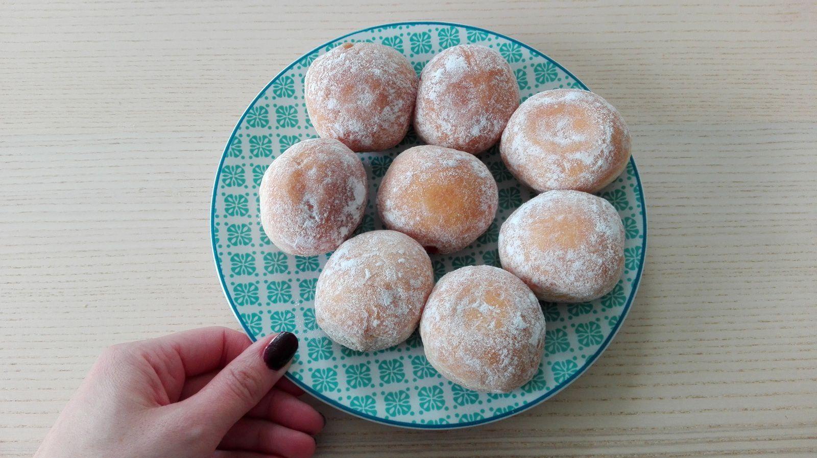 Eh hop le goûter du mercredi : beignets au chocolat