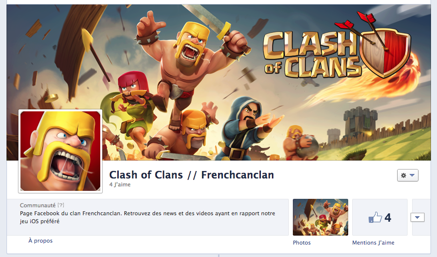 Frenchcanclan ouvre sa page FACEBOOK