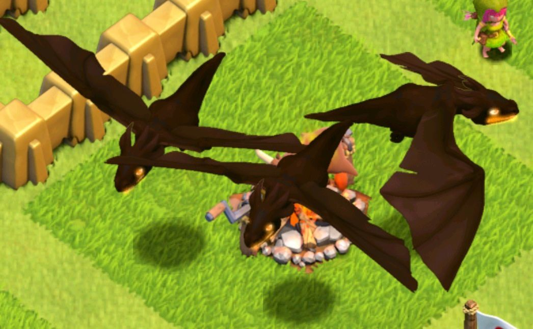 coc new update lvl 5 dragons summer