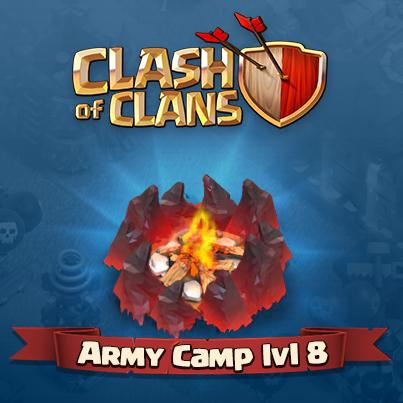 Prochaine MAJ : Camp lvl 8 !!
