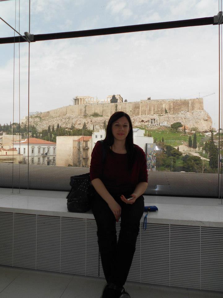 vista dal nuovo Museo dell'Acropoli