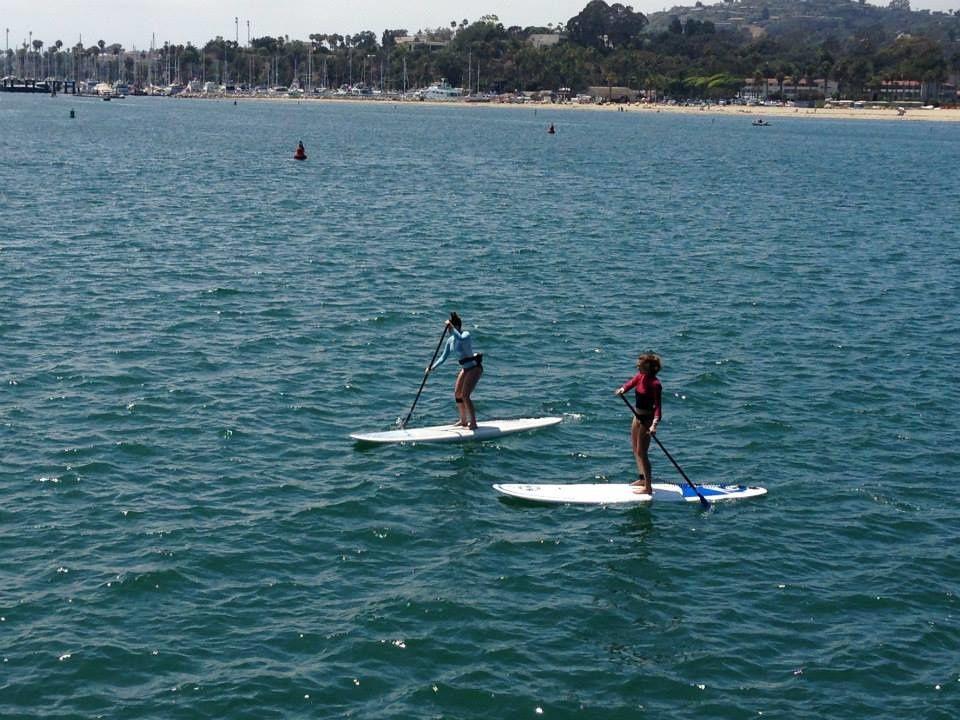 Santa Barbara e Venice Beach