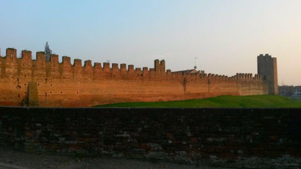 La cinta muraria medievale più bella d'Europa: Montagnana