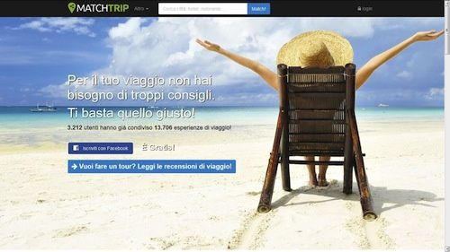 Matchtrip, la nuova community di viaggiatori per trovare utili consigli di viaggio e non solo.