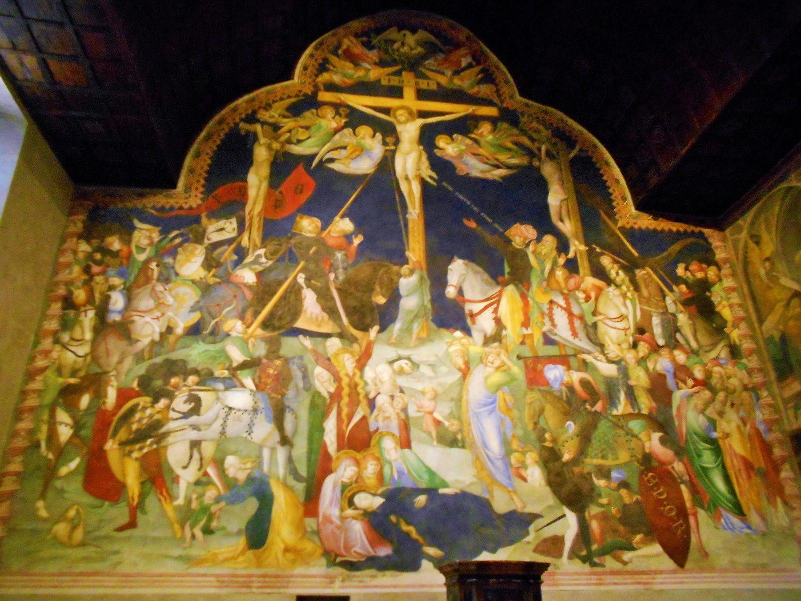 Crocifissione all'interno dell'Oratorio