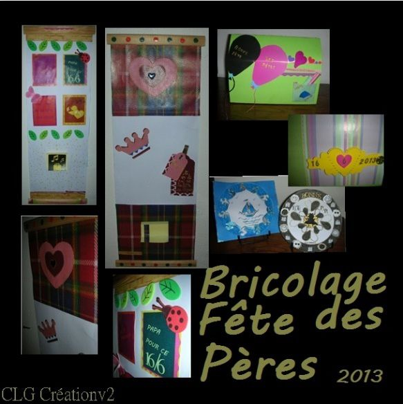 bricolage fete des peres clg cr ation version 2 0. Black Bedroom Furniture Sets. Home Design Ideas