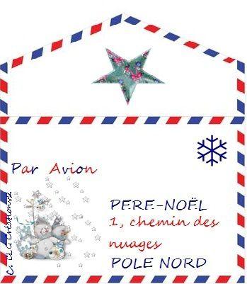 Enveloppe Pere Noel Imprimer Channelmarineacademy