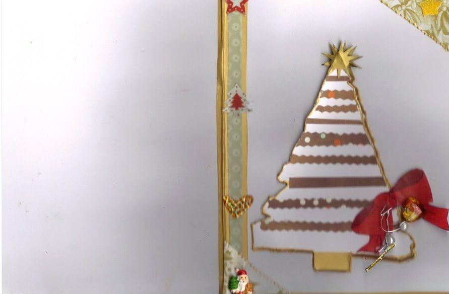 CONFECTION DE CARTES DE Noël  «SAPIN»