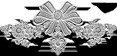 SUSPENSIONS DE BOUGIES BLANCHES  EN PAPIER POUR L'AVENT 2014
