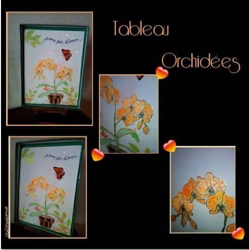 FÊTE DES MERES 2015 – TABLEAU ORCHIDEES
