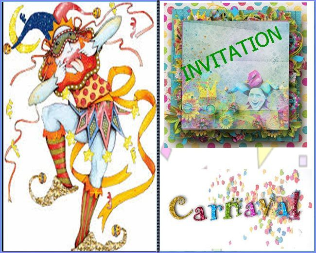 SPECIAL CARNAVAL – AMBIANCE MASQUES ET COLORIAGES...