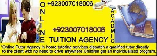 Computer Science Is To Biology What Calc By Harold: Online/Home Tuition Tutors Karachi,03007018006,Online/Home