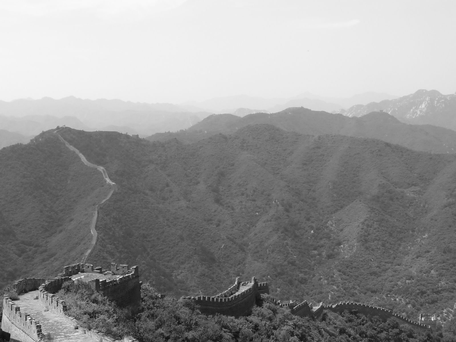 A big bout du great wall