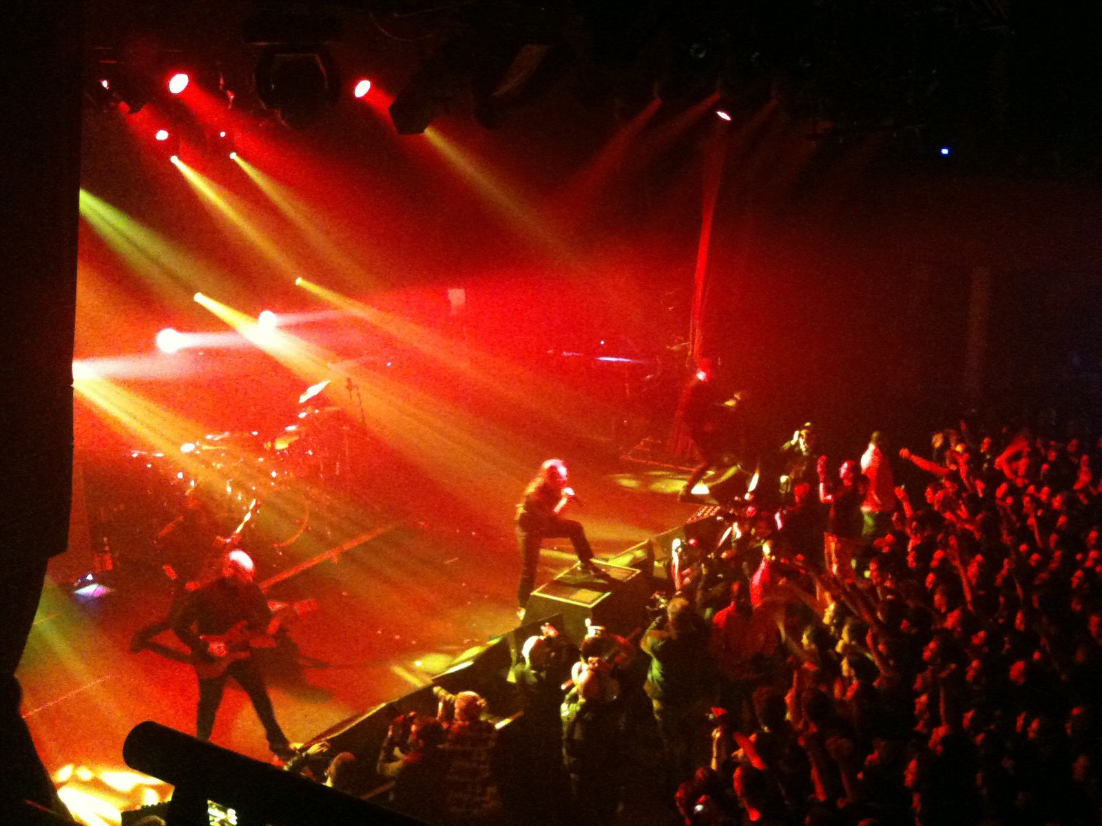 Stone Sour + Hounds , 25/11/12 , Paris
