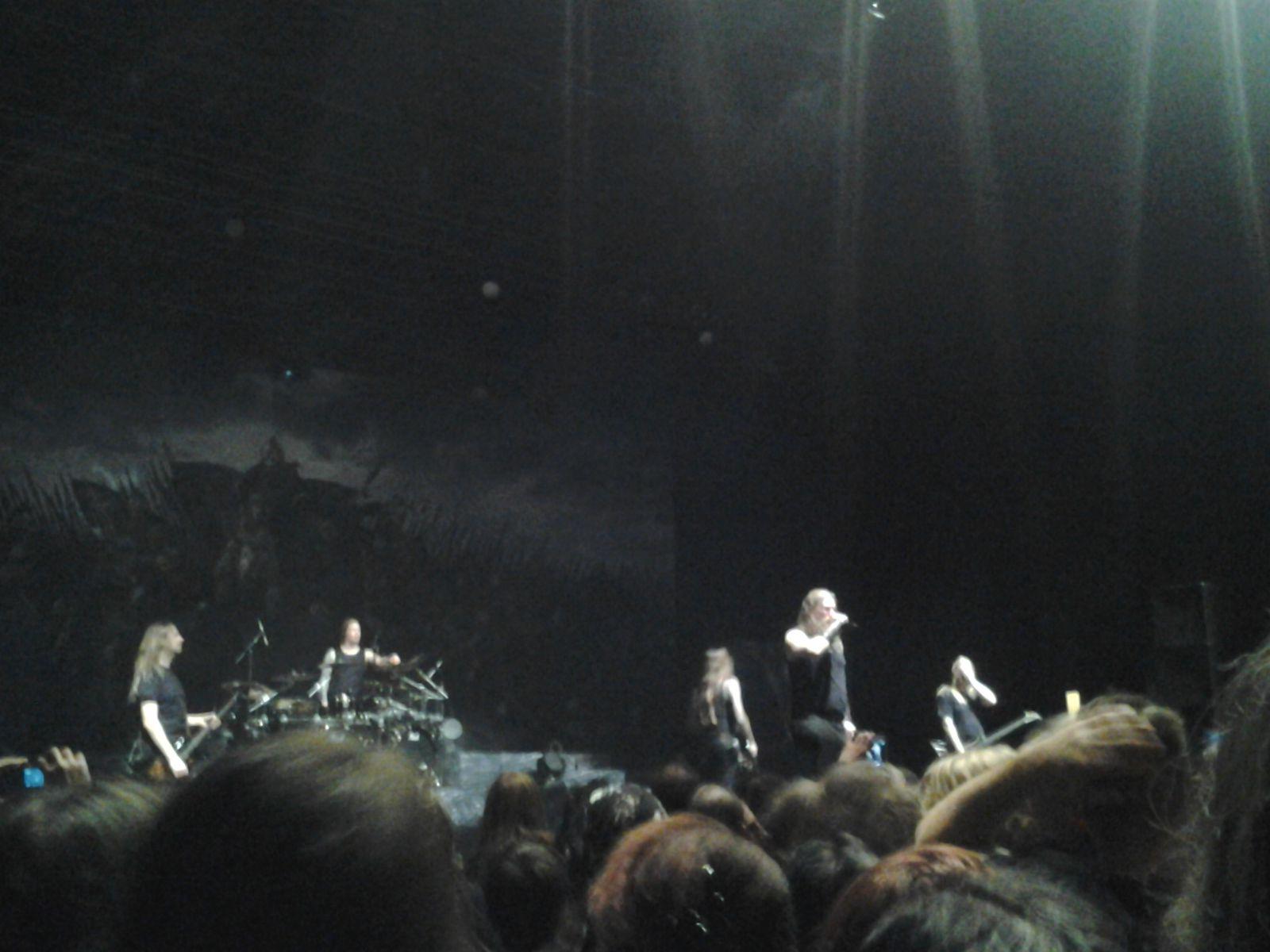 Amon Amarth + Carcass + Hell, 18/11/13, Paris
