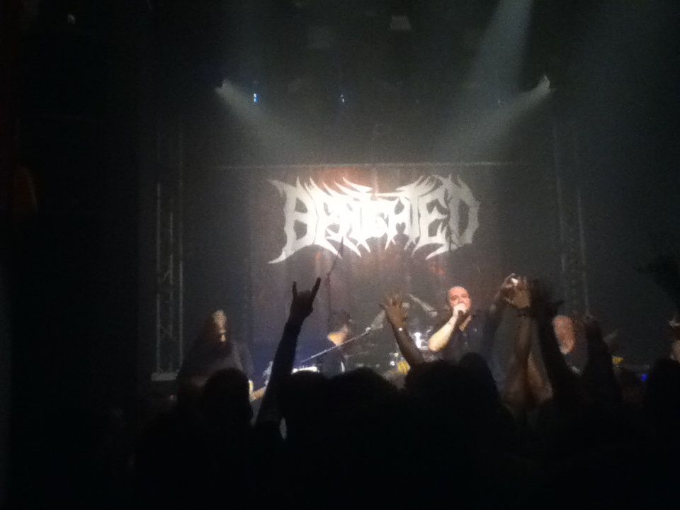 Benighted + Whisper of Death, Rambouillet, 17/01/2015