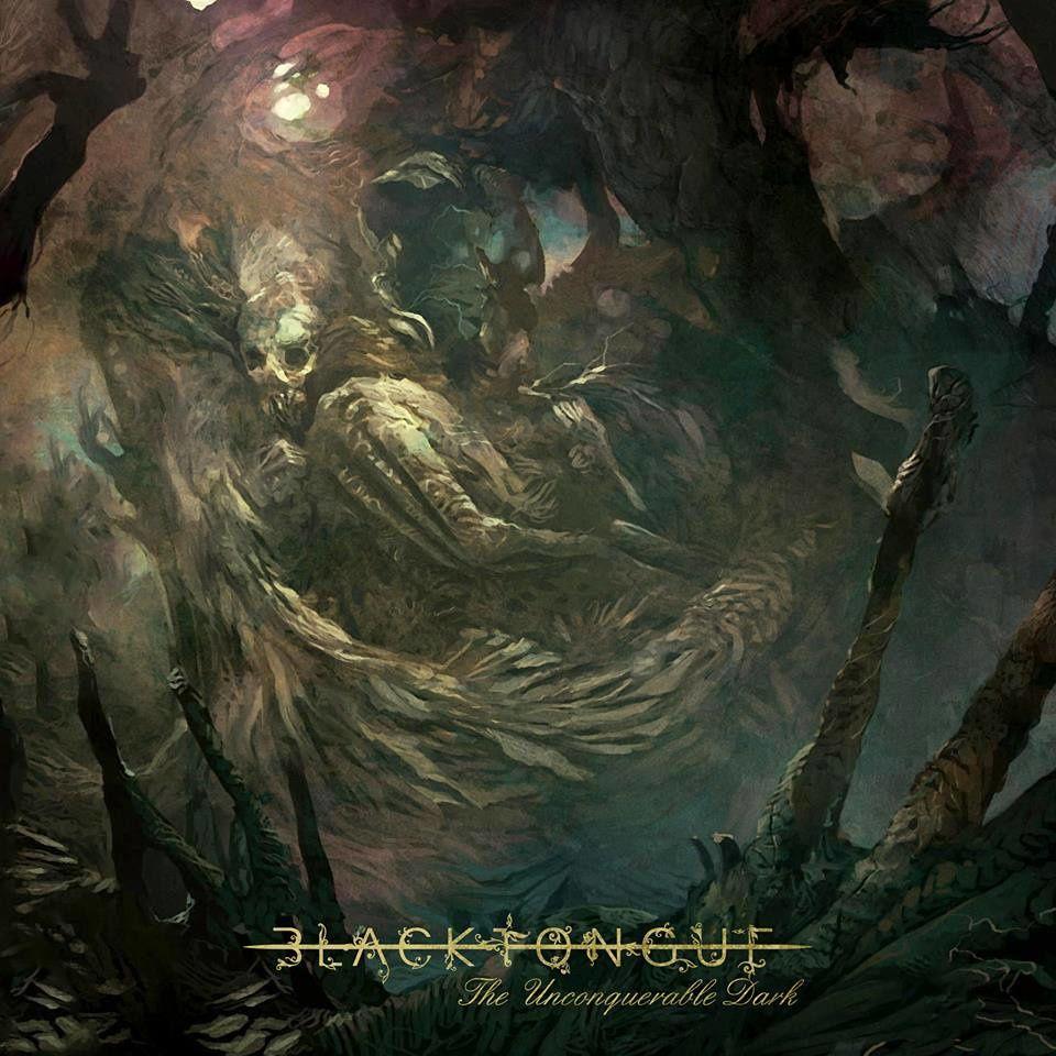 """#5 : Black Tongue - """"The Unconquerable Dark"""". Même si il faut un certain temps pour s'y habituer, ce doomcore s'avère particulièrement agréable à écouter."""