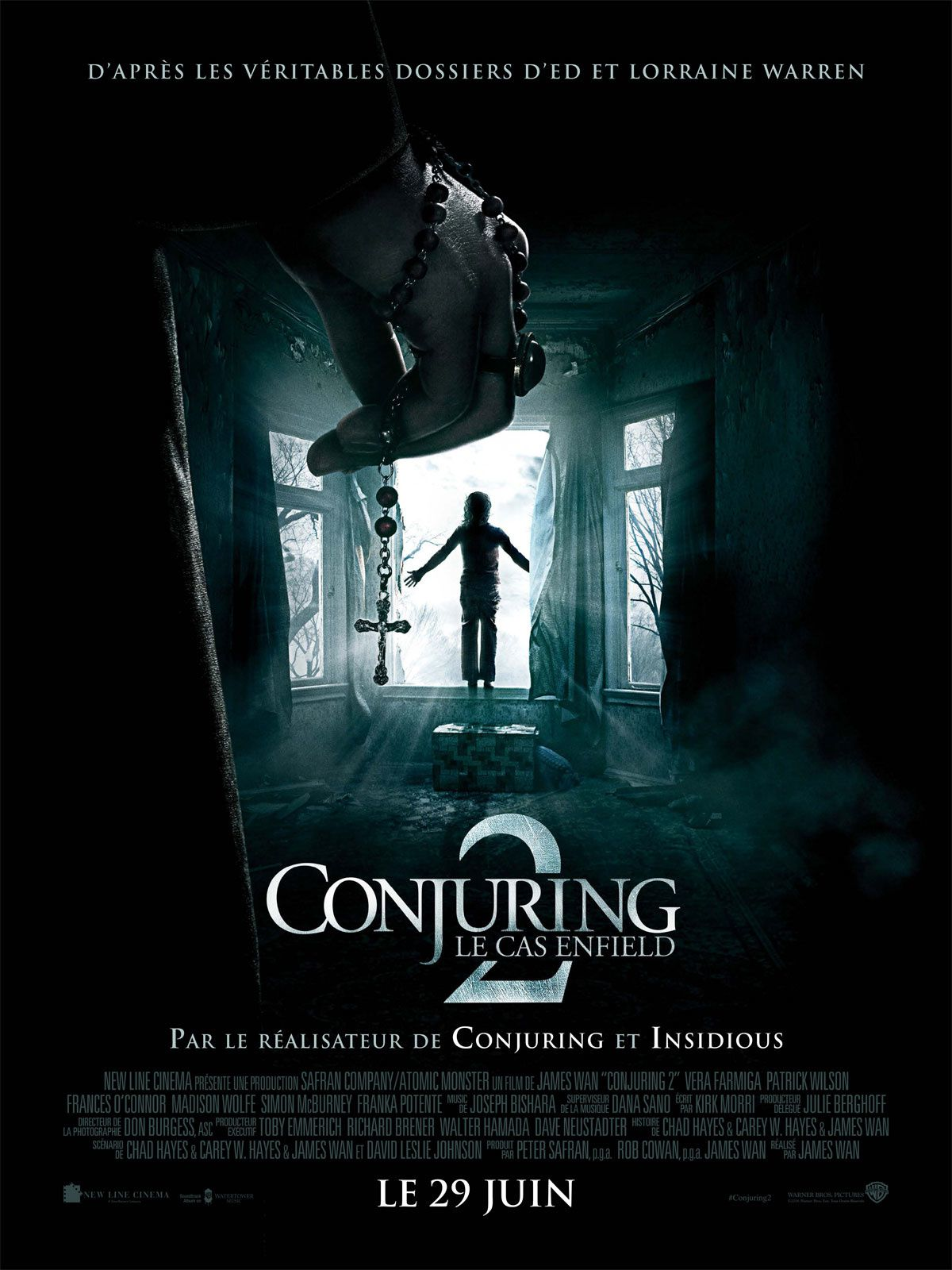 "#5 : ""Conjuring 2 : Le cas Enfield"" - James Wan"
