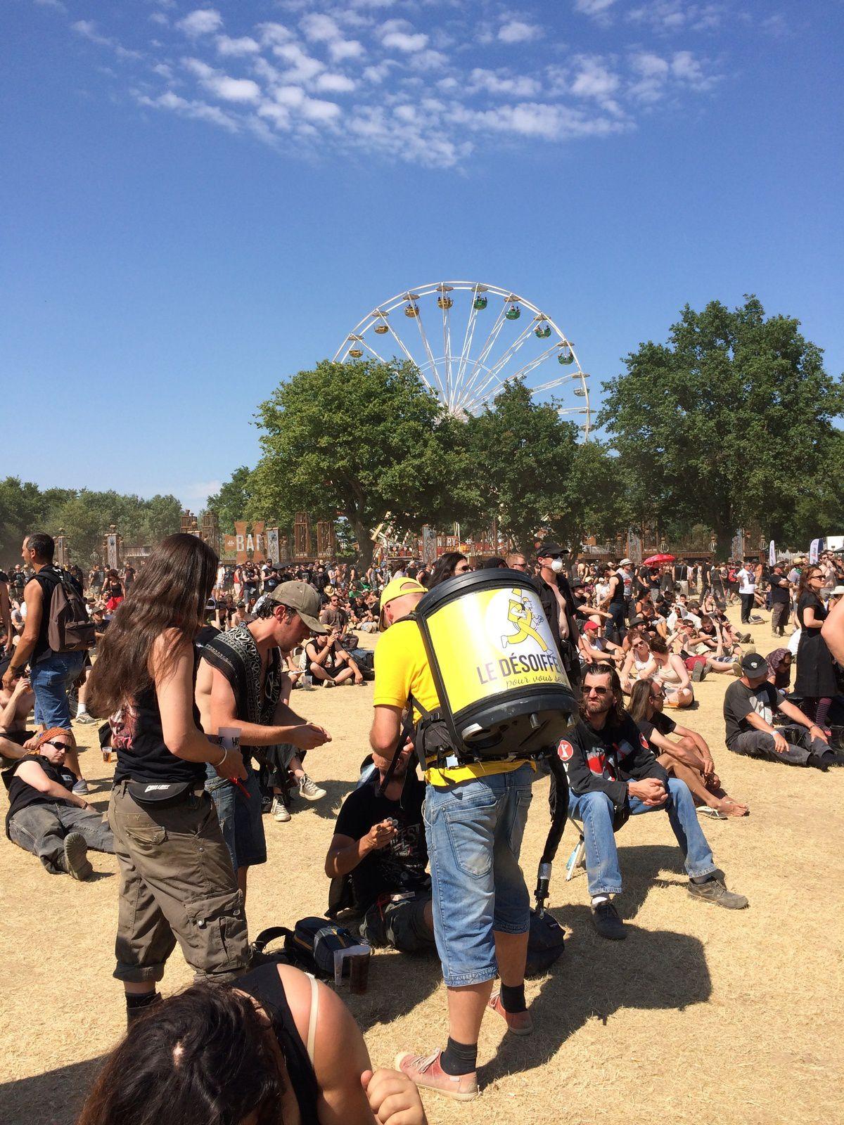 Hellfest festivalier