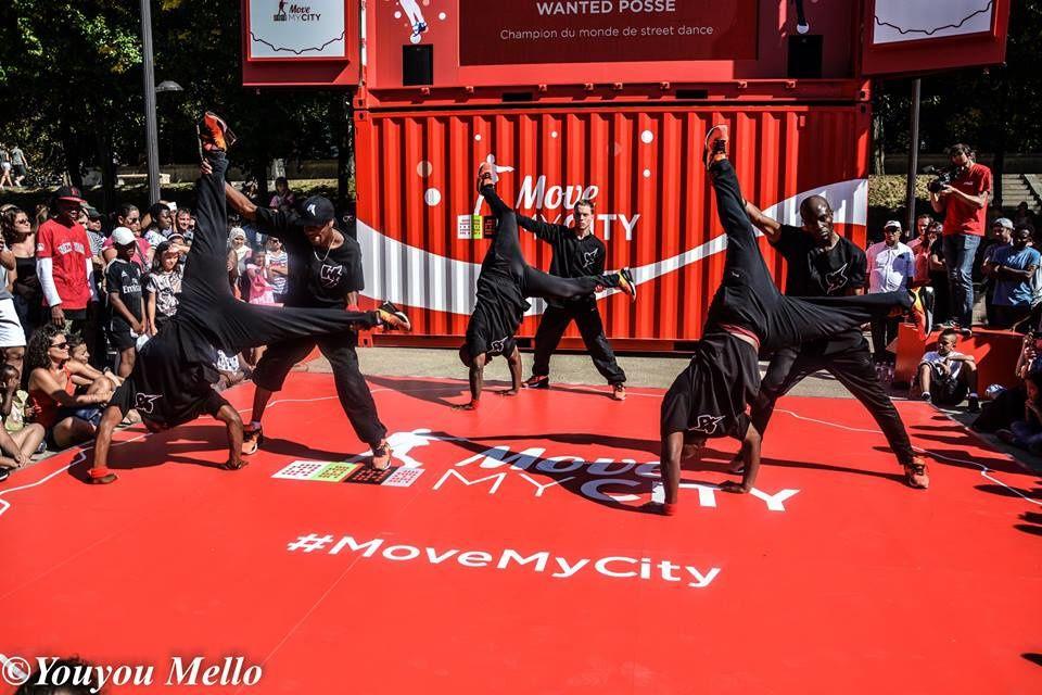 Paris Coca Cola Move my City 2015