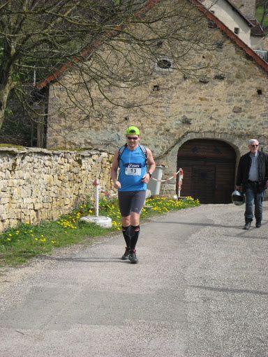 Trail des reculées - Jura - 2011