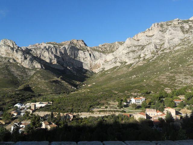 Les paysages de la montée au col de la Ginest