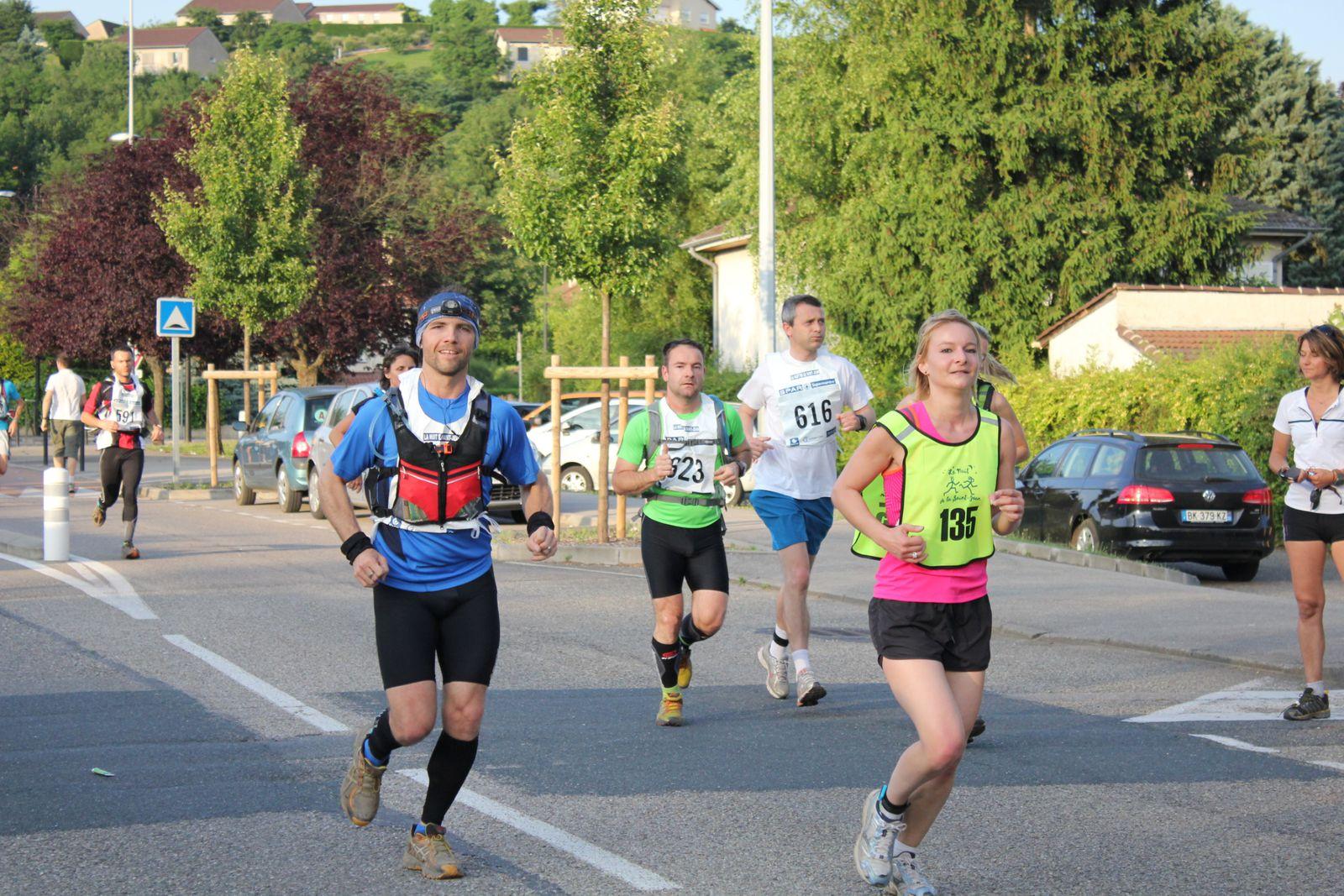La nuit de la St Jean 2013 - marathon semi-nocturne