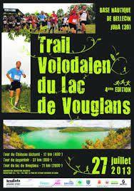 Trail Volodalen du lac de Vouglans - 2013
