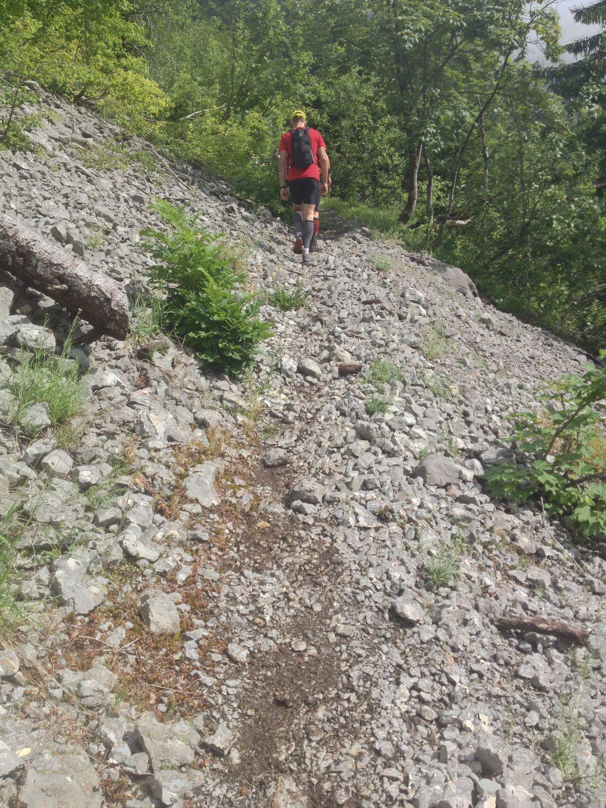 Trail de Faverges - Icebreaker