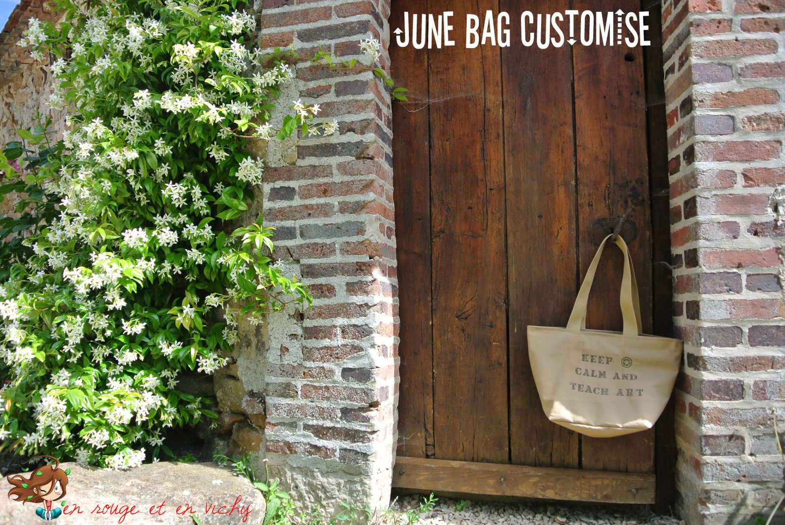 June Bag customisé