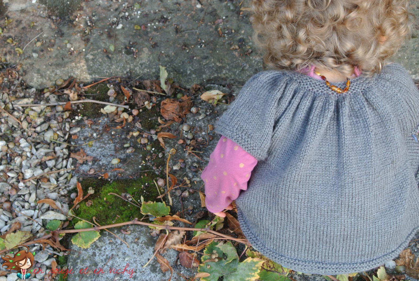 Tricot d'automne : le baby kina version manches courtes